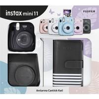 Fujifilm Instax Mini 11 Laporta Albümlü Siyah Kit