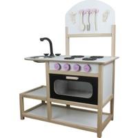 Okutan Hobi Montessori Ahşap Çocuk Mutfak Seti
