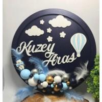 Hayal Ahşap Dünyası Baloon Kapı Süsü