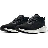 Yukka Treeperı 018 Dış Işık Stil Koşu Ayakkabısı - Siyah Beyaz