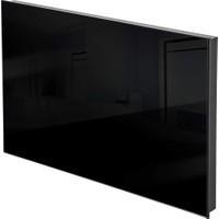 Kuas Isp Glass 300 Siyah Cam Elektrikli Panel Isıtıcı