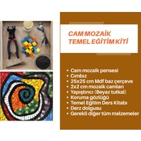 Mozaik Hobi Cam Mozaik Eğitim Kiti