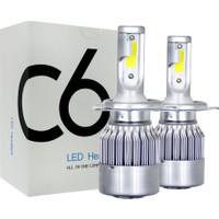 C6 H4 LED Xenon 6000K 7600LM