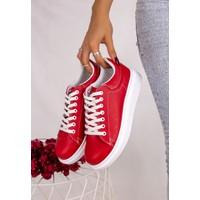 Erbilden Neomix Kırmızı Cilt Ayakkabı