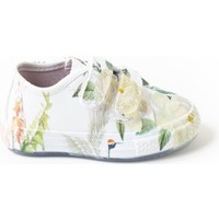 Minipicco Unisex Çocuk Çiçekli Spor Ayakkabı