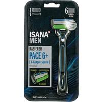 Isana Men Tıraş Makinesi Pace 6 6 Bıçaklı Sistem 1 Adet