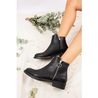 Fox Shoes Siyah Kadın Bot J518001309