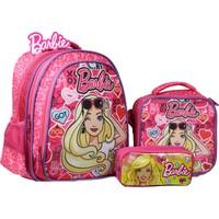 Öykü Barbie Ilkokul Okul Çantası ve Beslenme Takımı