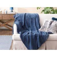 English Home Softy Wellsoft Tv Battaniye 120 x 170 cm Mavi