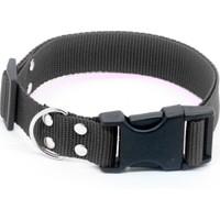 Petviya Ayarlanabilir Köpek Boyun Tasması 33-54 cm Siyah