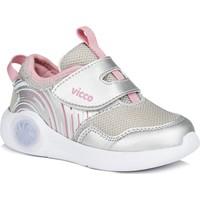 Vicco Jojo Kız Bebe Gümüş Spor Ayakkabı