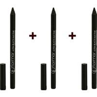 Flormar Göz Kalemi - Ultra Siyah Eyeliner 3 Lü Avantaj