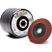 Bay-Tec Kum 10 Adet Flap Disk Zımpara Taşı 115 X 22 mm 40 Kum