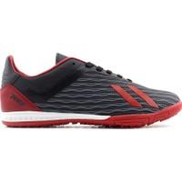 Jump 25849 Erkek Halı Saha Ayakkabı - Siyah Kırmızı