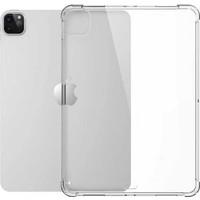 Ceplab Apple iPad Pro 11 2020 2.nesil Kılıf Şeffaf Shockproof Silikon Kapak + Nano Esnek Koruyucu Cam