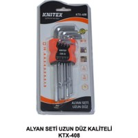 Knitex Allen Alyan Anahtar Takımı 9 Parça Uzun Boy Alyan Seti
