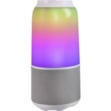 Velev V03 Rgb Hoparlör Bt Kablosuz Stereo Soundbox (Yurt Dışından)