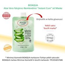 """Aloe Vera Yatıştırıcı Nemlendirici """"Instant Cure"""" Jel Maske 170 gr"""