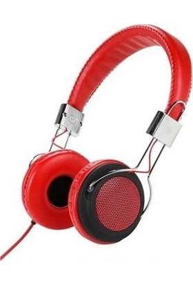 Vivanco 34880 Street Style X-Bass Kulaküstü Kulaklık Kırmızı