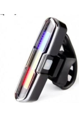 Xbyc 6017-3 Bisiklet USB Şarjlı Polis Çakar Lamba