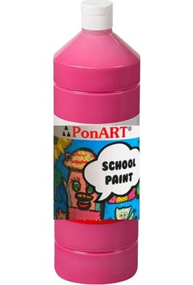 Art Boya Ponart School Paint Boya 250 ml Siklamen