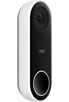 Nest Hello Wi-Fi Kameralı Akıllı Kapı Zili
