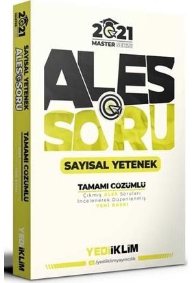 Yediiklim Yayınları Ales Master Serisi Sayısal Yetenek Tamamı Çözümlü Soru Bankası