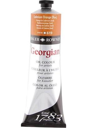 Daler Rowney Georgian Yağlı Boya 38 ml 619 Cadmium Orange Hue 38 ml