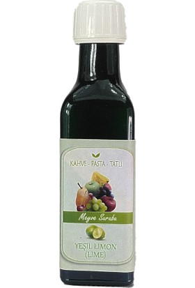 Floresta Coffe Lime Yeşil Limon Şurubu 100ML
