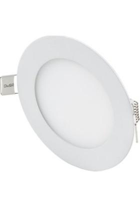 Oky LED Panel Spot 6 w Beyaz Slim Yuvarlak Sıva Altı (5'li)