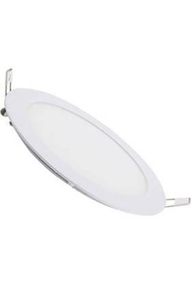 Hrz LED Panel Spot 9 w Günışığı Slim Yuvarlak Sıva Altı (2'li)