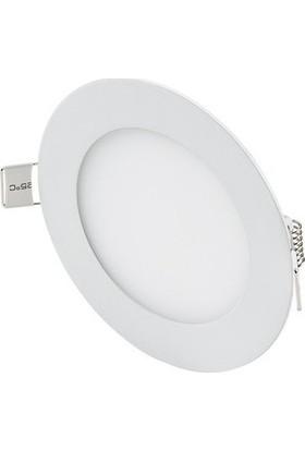 Hrz LED Panel Spot 3 w Beyaz Slim Yuvarlak Sıva Altı (3'lü)
