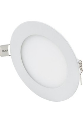 Oky LED Panel Spot 6 w Beyaz Slim Yuvarlak Sıva Altı (4'lü