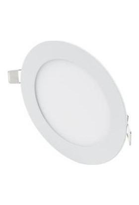 Hrz LED Panel Spot 9 w Günışığı Slim Yuvarlak Sıva Altı (3'lü)