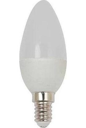 Horoz Mum Buji LED Ampul 5 w E14 Duy Beyaz (4'lü)