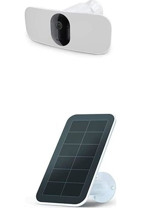 Arlo Pro 3 Floodlight Kamerası + Güneş Paneli 2k Kamera