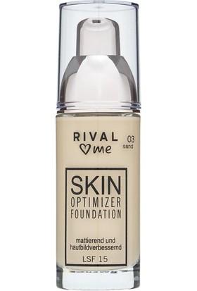 Rival Loves Me Fondöten Skin Optimizer No:03 Sand