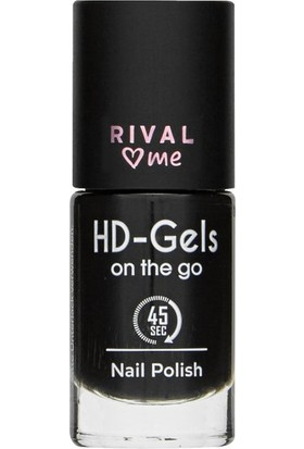 Rival Loves Me Oje No:30 Hd Gels Mystic Black Jel Efekt