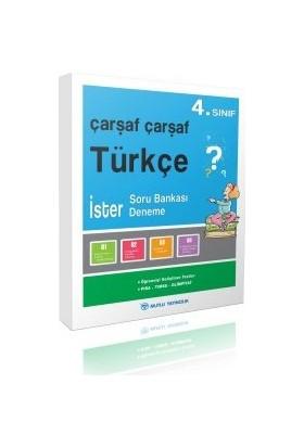 Mutlu Yayınları Çarşaf Çarşaf Türkçe 4.Sınıf