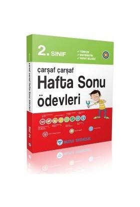 Mutlu Yayınları 2. Sınıf Çarşaf Çarşaf Hafta Sonu Ödevleri