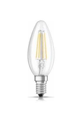 Osram Value 4W B40 2700K E14 LED Filament Mum Buji Ampul
