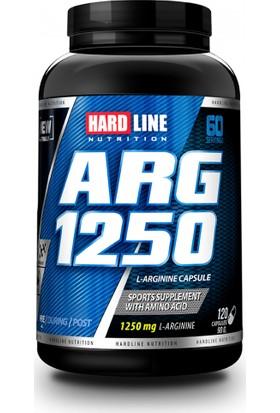 Hardline ARG 1250 Mg 120 Kapsül - (Arginine, Arjinin )
