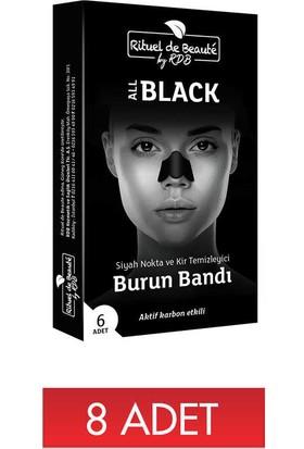 8 x Rituel De Beaute Siyah Nokta ve Kir Temizleyici Burun Bandi (Toplam 8 Adet)