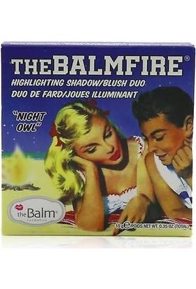 The Balm Balmfire Night Owl Aydınlatıcı Paleti Allık 10GR