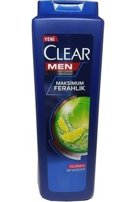 Clear Men Şampuan Yağlı Saç Derisi Için 600 ml 2 Adet