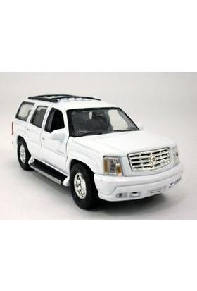 Welly 1:38 2002 Cadillac Escalade Beyaz
