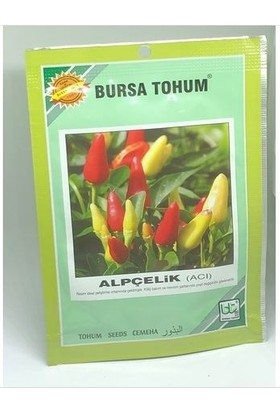 Bursa Alpçelik Acı Süs Biberi Tohumu 10 gr