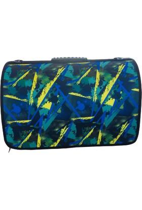 Pacopet Mavi Yazı Desenli Kedi Köpek Şeffaf Taşıma Çantası 42X27