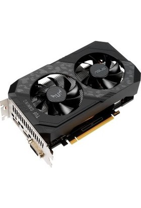 Asus GeForce GTX 1650 OC 4GB 1785MHz GDDR6 DX(12) PCI-Express 3.0 Ekran Kartı (TUF-GTX1650-O4GD6-P-GAMING)