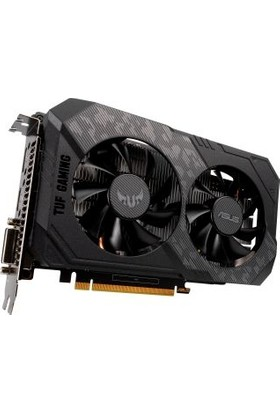 Asus GeForce GTX 1650 4GB 1620MHz GDDR6 DX(12) PCI-Express 3.0 Ekran Kartı (TUF-GTX1650-4GD6-P-GAMING)